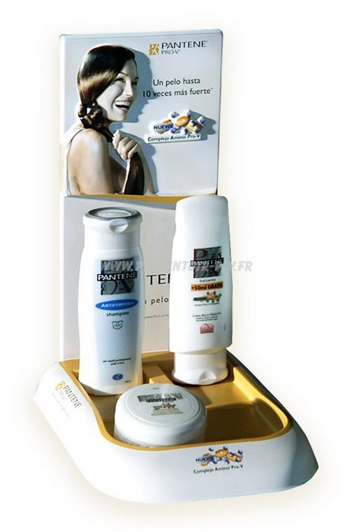 presentoir-plastique-thermoforrme-cosmetique produits cosmétiques